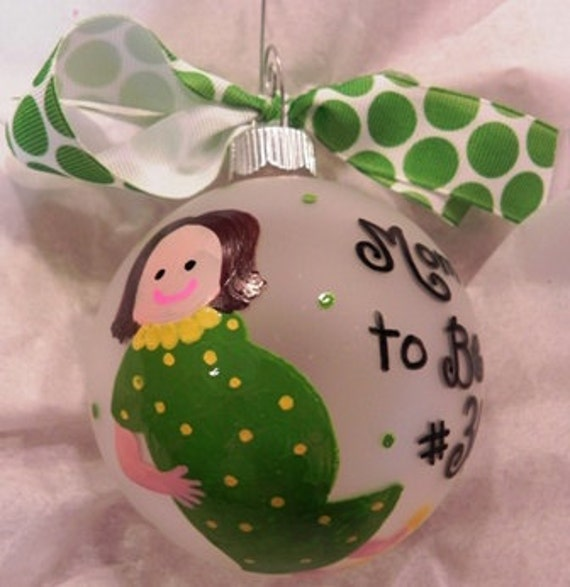 Mom to Be Ornament