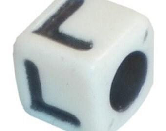 """Square Alphabet Letter """"L"""""""