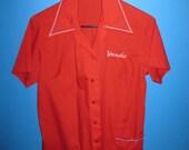 Red Women's Bowling Shirt