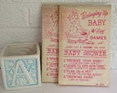 "Vintage Baby Shower Games - ""Bringing Up Baby"""