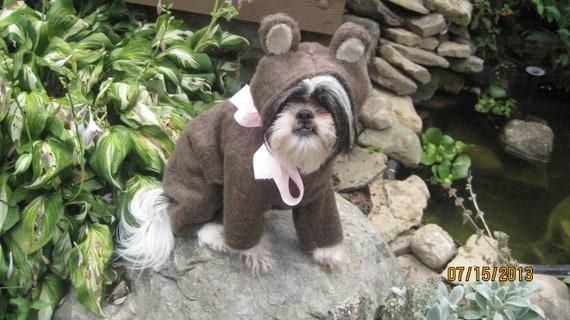 Teddy Bear or Bear Dog Halloween Costume Size  Small