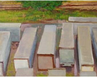 Semi Trailers - original painting