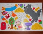 Rare Vintage Sandylion Sticker Sheet