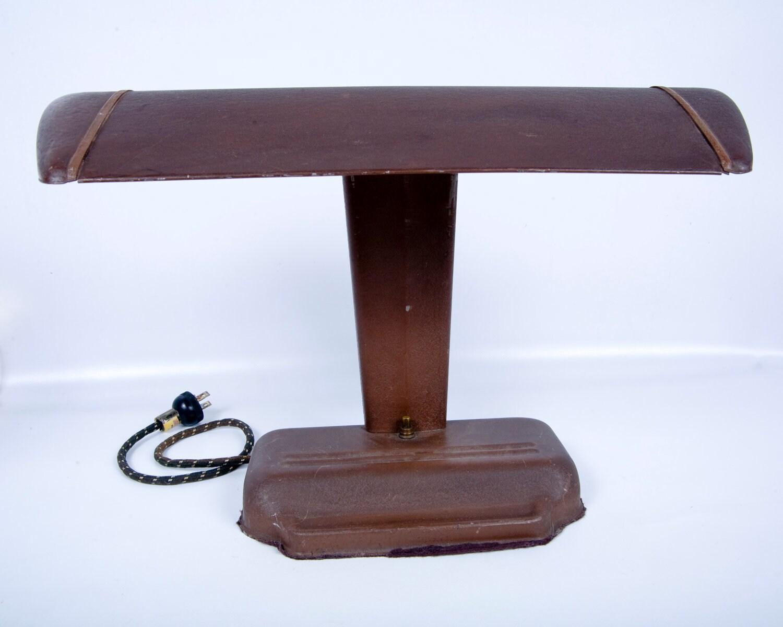 vintage metal desk lamp industrial lampshade crafthubs. Black Bedroom Furniture Sets. Home Design Ideas