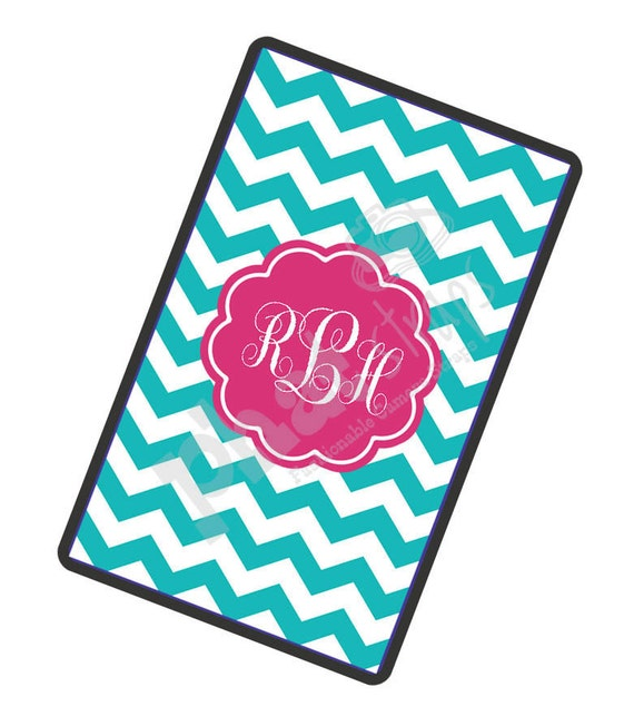 Personalized Kindle Fire Case - Kindle Cover - Hard Plastic Snap on Case - Monogrammed Kindle Fire Case - Bahama Chevy