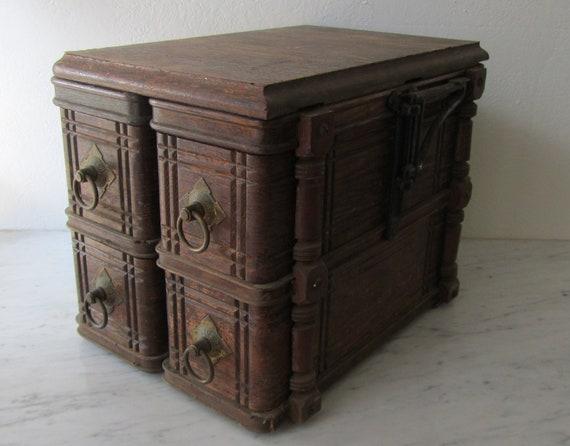Repurposed Singer 4 Drawer Cabinet