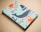 Hand Bound Nautical Sketchbook