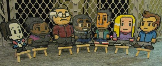 Community Pixel Bead: 1 Character