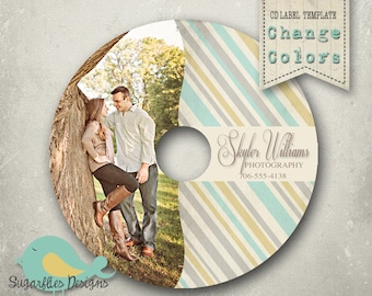 CD/Dvd Label PHOTOSHOP TEMPLATE  - dvd Label 8