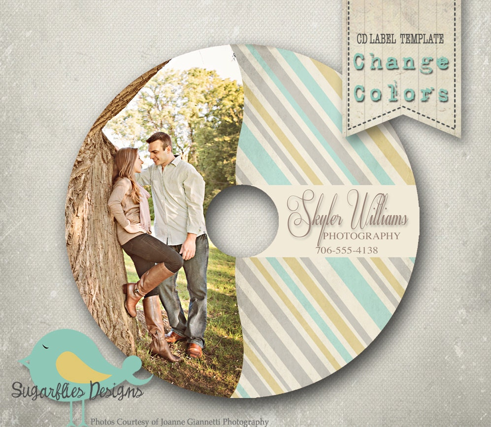 cd  dvd label photoshop template dvd label 8