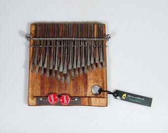 32 Key Shona Njari Mbira - Finger Piano - Kalimba Handmade in Zimbabwe by C.Vambe Ships fast from USA!