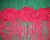 """Custom Order for Brittany: """"Twisted Rose"""" in the color """"Wine Tasting"""", extra yarn charge"""