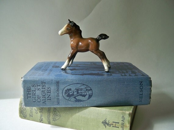 Cute Vintage Pony China Horse Foal