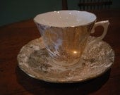 Vintage Coclough China Floral  Tea Cup & Saucer