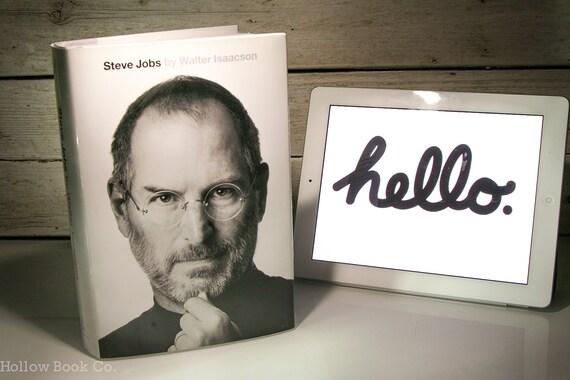 Hollow Book Safe –Steve Jobs