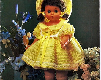 Crochet Collection Doll Clothes Crochet Patterns Leisure Time Publishing MM961