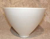 Milk Glass Torchiere Shade for Floor Lamp 8in. Diameter