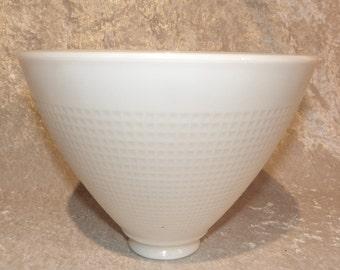 Milk Glass Torchiere Shade for Floor Lamp 8in. Diameter