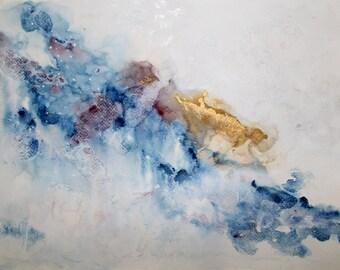 "Original Gouache Painting - ""Easy and Dreamlike"""