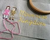 PDF Moonrise Kingdom cross stitch pattern
