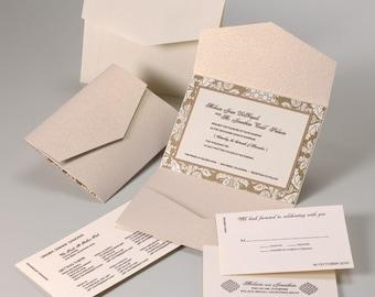 Wedding Invitations - Silk