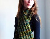 ONE-OF-A-KIND Classic Handknit Scarf