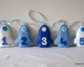 Blue Rocket Nursery Decorations