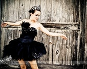 Black Swan Costume-- made to order