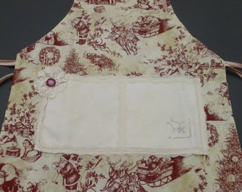 Reversible Apron for Your Young Christmas Baker