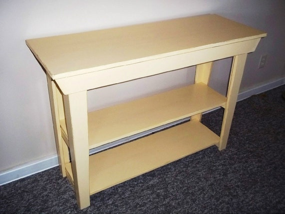 Entryway Table , Side table,, rustic table, sofa table, console table foyer table, , storage table, Shabby n Chic Kitchen storage Furniture