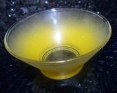 Vintage Blendo Yellow Dip Bowl