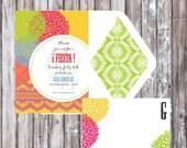 CINCO de MAYO - FIESTA  Invitation - Mexican Fiesta Printable Invitation - Cinco de Mayo Invitation