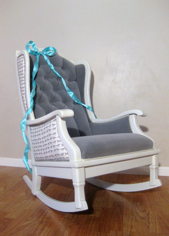 White Rocking Chair For Nursery » Home Design 2017