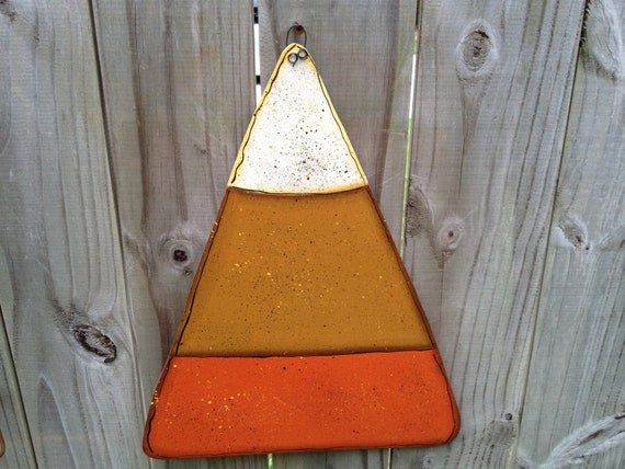 Personalized Whimsical Candy Corn Fall Decor Sign