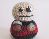 Pocket Monster Ode to the Captain Picard from Star Trek Next Generation Perfect for Halloween and Sci-fi Fans
