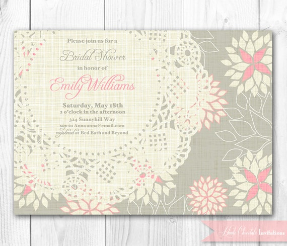 Bridesmaid Luncheon Invitations is awesome invitation example
