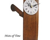 Wall Clock Antique Woodwork Plane Upcycled Repurposed  Mans Gift Xmas Gift Geekery Davis