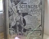 French School Book Art Nouveau Lecons de Sciences Physique & Naturelles