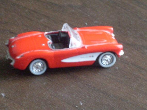Vintage 1957 Corvette Toy Car