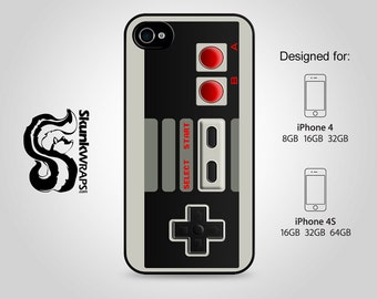 Apple iPhone 4 4S Slim Hard Case  -  Classic Controller