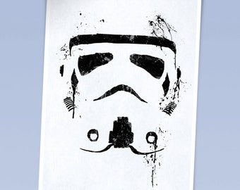 Star wars Stormtrooper print (420 x 297mm)