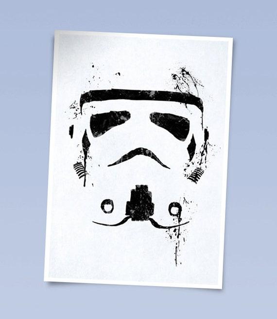 Star wars Stormtrooper print (420 x 297mm)