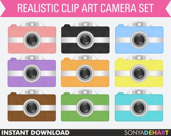 70% OFF SALE Camera Clipart, Camera Clip Art, Clipart Cameras, Clip Art Cameras, Clipart, Clip Art, Camera Graphics, Photography Clipart
