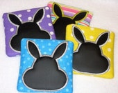 Easter Basket fun Easter bunny mini chalkboards