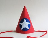 Avengers' Captain America Party Hat For Dogs