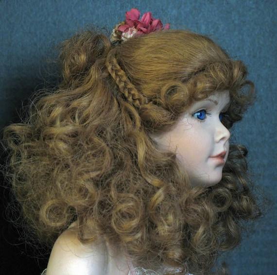 "GRACE: A Lovely 12"" Vintage Porcelain Bisque Doll"