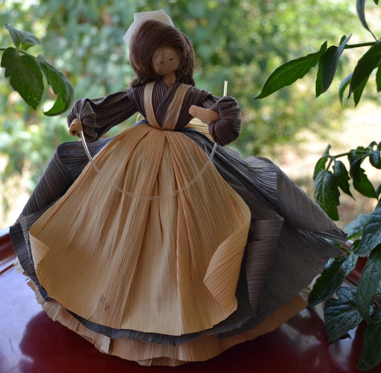Corn Husk Dolls Nan S Cornhusk Vintage 1987