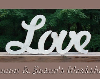 Love Sign, DIY wedding decoration, Wall hanging, wooden letters, wooden sign, home decor, wood sign, Housewares,Wall Decor