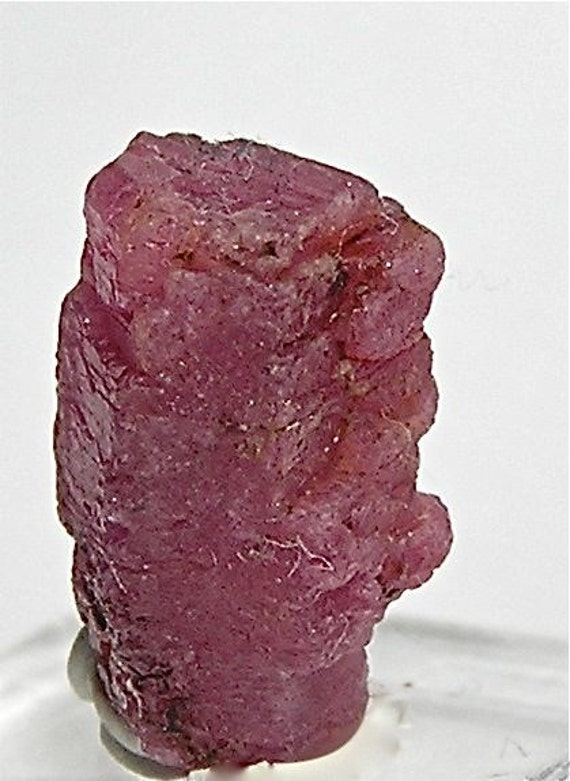 Red Ruby Crystal Mineral Corundum 14.5 carats by ...