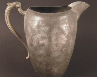 Pewter Water Pitcher, Small
